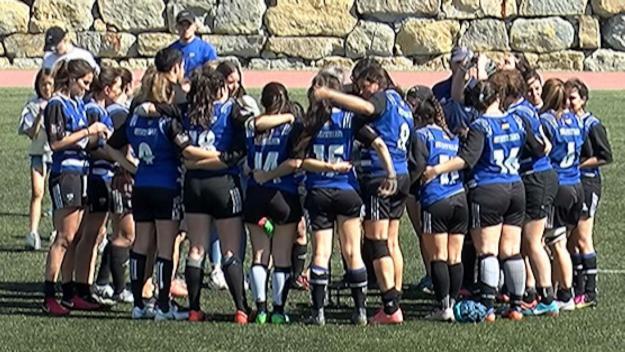El femení del Rugby Sant Cugat jugarà a la segona categoria estatal / Font. Cugat.cat