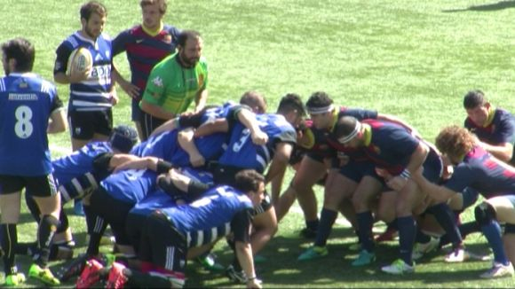 Un Rugby Sant Cugat competitiu perd la final de la Copa Catalana contra el FC Barcelona