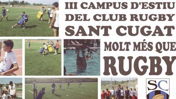 El 3r Campus d'estiu del Rugby SC innova per seguir creixent