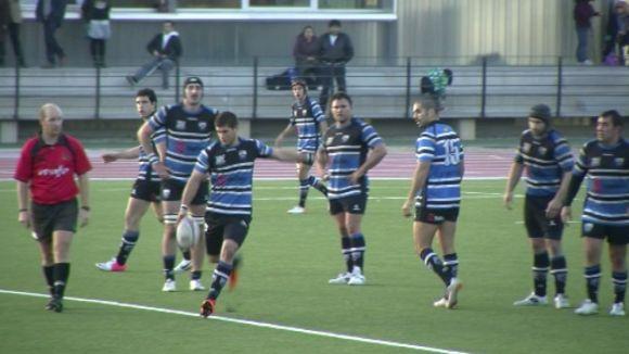 El Rugby Sant Cugat suma la tercera victòria consecutiva