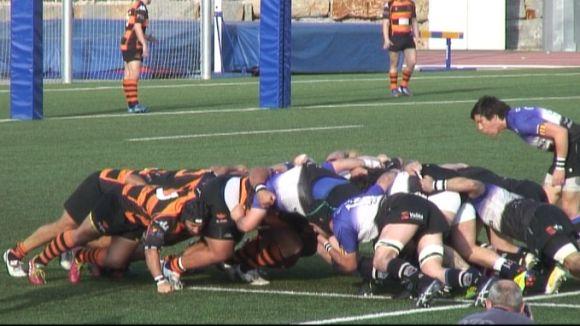 El Rugby SC supera les Abelles i segueix depenent de si mateix per ser a la promoció