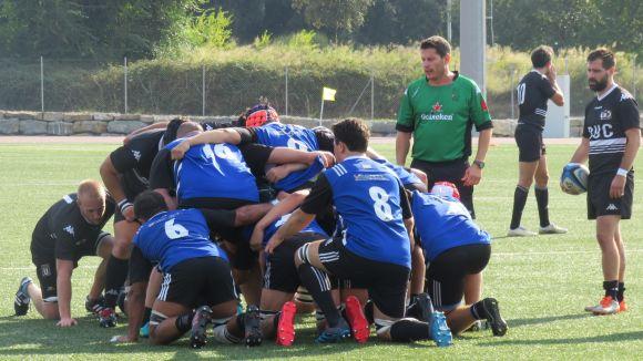 El Rugby Sant Cugat torna de València amb les mans buides i una clara derrota