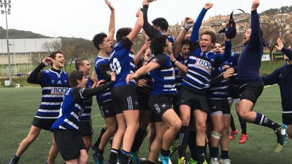 El Rugby Sant Cugat vol jugar a casa el Campionat d'Espanya / Font: Rugby Sant Cugat