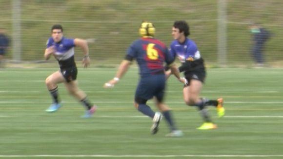 El Rugby Sant Cugat perd contra el FC Barcelona i deixa de ser líder