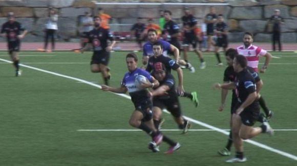 El Rugby Sant Cugat guanya el BUC tot i no fer un gran partit