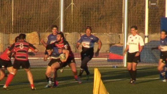El Rugby Sant Cugat fa pagar els plats trencats al Les Abelles valencià