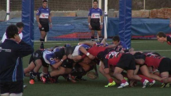 El Rugby Sant Cugat encaixa un 17 a 0 inicial que el fa perdre al camp del CAU València