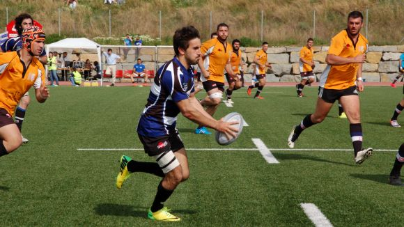 El Rugby Sant Cugat aconsegueix el bitllet per la final de la Fase d'Ascens amb un clar triomf