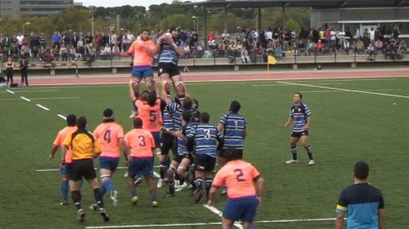 El Rugby Sant Cugat guanya i es jugarà l'ascens la setmana vinent a Oviedo