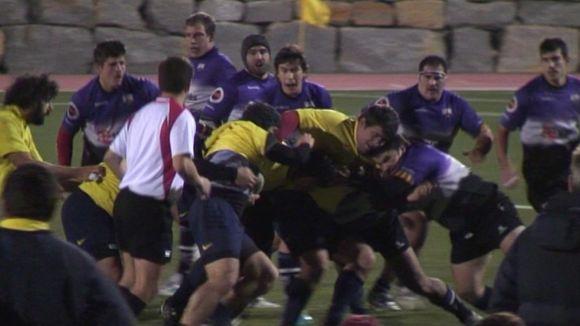 El Rugby Sant Cugat intimida amb un triomf contundent en el debut a la fase d'ascens