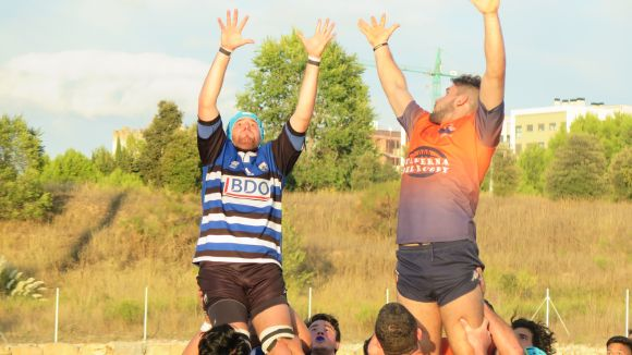 Imatge d'aquesta temporada del Rugby Sant Cugat