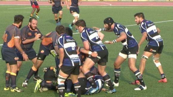 El Rugby Sant Cugat guanya tot i les baixes a un bon RC L'Hospitalet