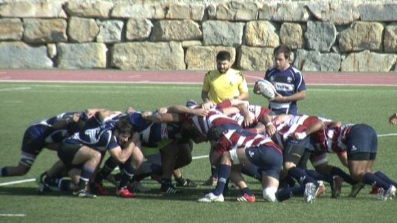 Un Rugby Sant Cugat molt intens no pot amb el gran favorit a l'ascens, el CR La Vila