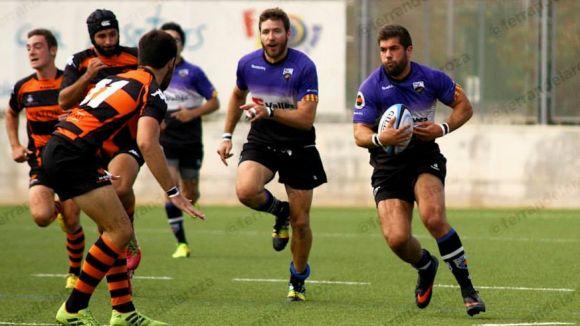 El Rugby Sant Cugat mesura el seu potencial contra un rival directe, el la Vila