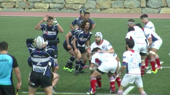El CR Liceo Francés elimina un Rugby Sant Cugat que es queda de nou sense el somni de l'ascens