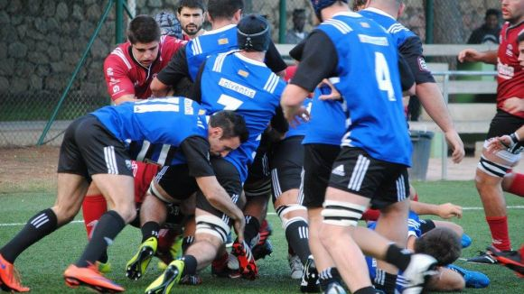 Daniele i Trenzano impulsen la reacció del Rugby Sant Cugat per vèncer el Barcelona Enginyers
