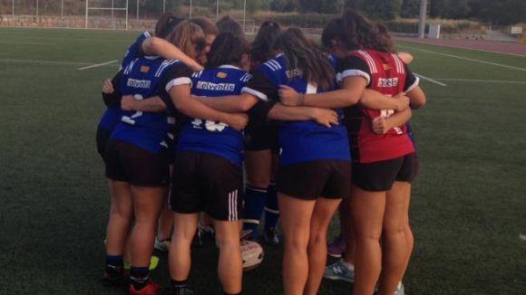 El Rugby Sant Cugat femení disputa un partit exigent / Font: Rugby Sant Cugat