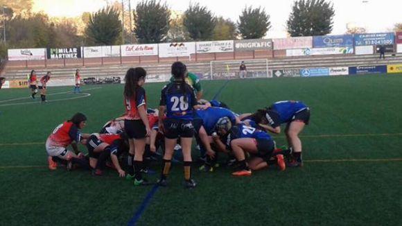 El Rugby Sant Cugat femení s'enfronta a un equip potent