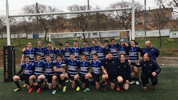L'equip sub 18 del Rugby Sant Cugat / Font: Club Rugby Sant Cugat