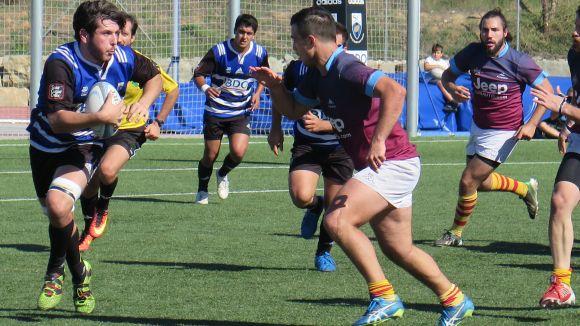 El Rugby Sant Cugat perd la imbatilitat a casa en un fluix partit contra la Santboiana B