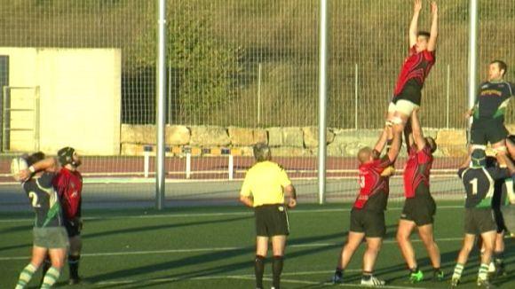 El Rugby Sant Cugat apallissa el Sitges i es col·loca a un punt del CR la Vila