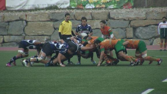 El Rugby Sant Cugat, en una imatge de la primera volta