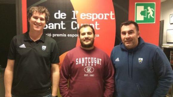 Luis Soares deixa de ser tècnic del primer equip del Club Rugby Sant Cugat