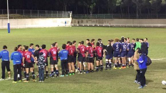 El Rugby Sant Cugat supera per la mínima el Fènix de Saragossa