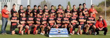 El juvenil del Club Rugby Sant Cugat es juga la lliga a partit únic contra la Santboiana