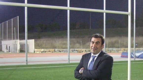 El president del Club Rugby Sant Cugat, Mauri Benito, ha atès la trucada del 'Sant Cugat a fons'