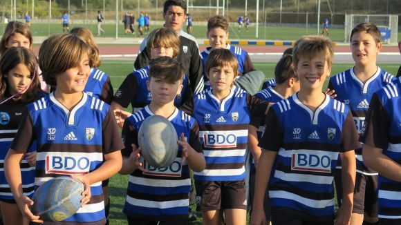 El Rugby Sant Cugat es consolida com el club amb més fitxes de tot el rugbi català