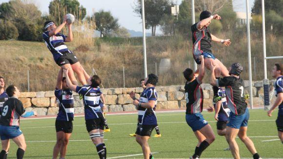 El Rugby Sant Cugat guanya un mal partit en el qual el millor és el resultat favorable