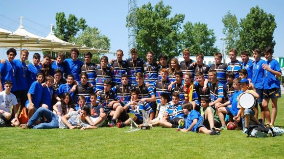 El sub 16 del Rugby Sant Cugat és l'equip més exitós del planter