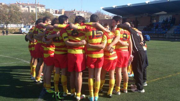 Catalunya sub 16 i sub 18 aconsegueixen el tercer lloc a l'Estatal de rugbi
