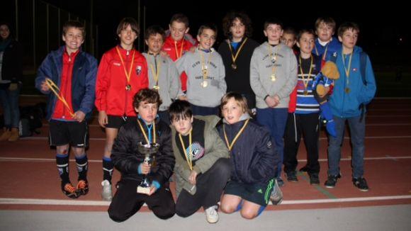 Rugby Sant Cugat i Liceo Francés dominen el 1r Torneig d'Hivern