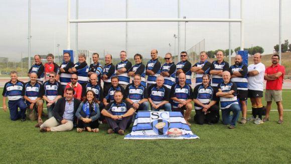 Els veterans del Rugby Sant Cugat col·laboren en un projecte d'investigació mèdica