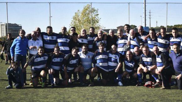 Els veterans del Rugby Sant Cugat organitzen aquest dissabte un torneig dels 30 anys de l'entitat