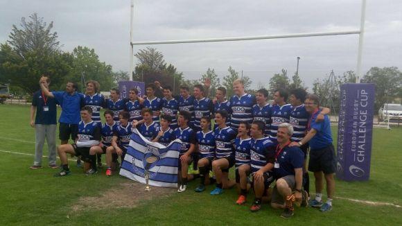 El Club Rugby Sant Cugat es proclama campió d'Espanya sub 16 per segon any consecutiu
