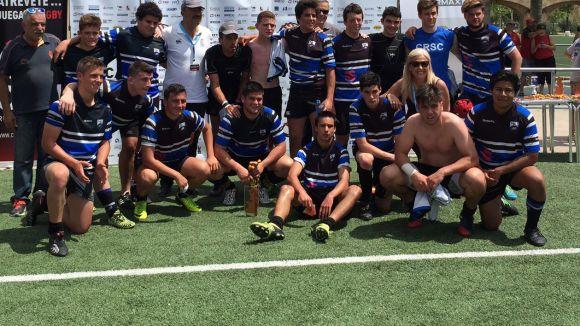 El Club Rugby Sant Cugat sub 18 acaba sisè el campionat d'Espanya darrera de l'Alcobendas