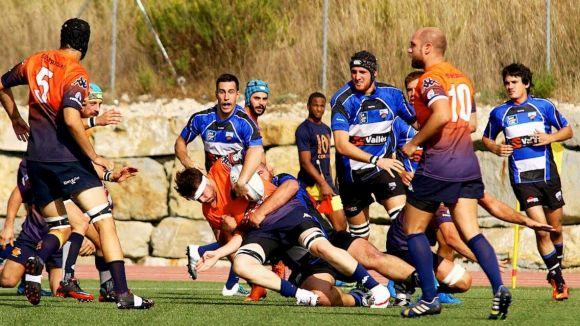 El Rugby Sant Cugat disputa davant la Santboiana B el primer partit de l'any