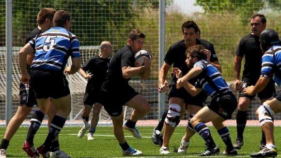 El Rugby Sant Cugat suma el segon triomf consecutiu amb bonus