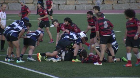 El Rugby Sant Cugat suma un punt de bonus que li dóna la classificació i el títol