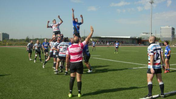 Un Rugby Sant Cugat amb molts dubtes supera el cuer de la Divisió d'Honor B