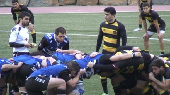 El Rugby Sant Cugat supera el Tatami RC i recupera sensacions en partit molt complet