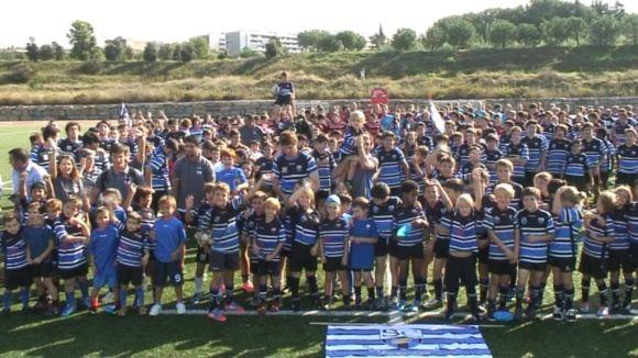 El Rugby Sant Cugat es presenta davant l'afició amb un nou sènior femení