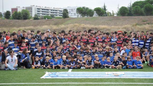 El Rugby Sant Cugat presenta els 17 equips del club aquest dissabte a la Guinardera