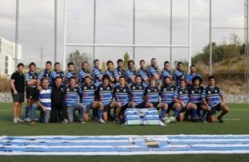 El Club Rugby Sant Cugat perd i haurà de remuntar a La Guinardera