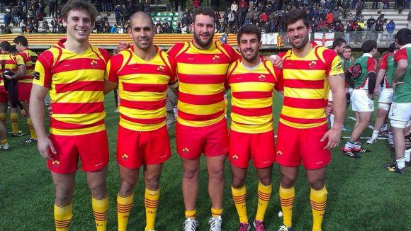 Catalunya, amb 5 jugadors del Rugby Sant Cugat, es veu superada per Euskadi