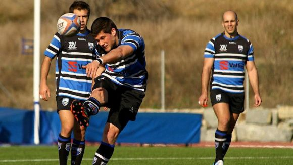 El Rugby Sant Cugat s'endú el derbi de la Divisió d'Honor B contra el BUC