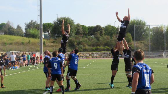 El Rugby Sant Cugat guanya amb solvència el BUC i deixa bones sensacions